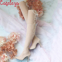 Cateleya bjd1 / 3 over the knee high heel boots baby shoes