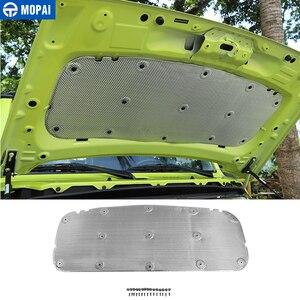 MOPAI Sound Heat Insulation Cotton for Suzuki Jimny JB74 Car Hood Heat Insulation Pad for Suzuki Jimny 2019 2020 Accessories