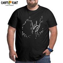 Vintage la linea neve t-shirts homens crewneck puro algodão t camisas de manga curta grande altura t plus size grande 6xl roupas