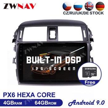9Inch HD screen Android 9.0 Car Multimedia Player For Toyota Corolla 2006-2013 car GPS Navi WIFI BT Audio Radio stereo head unit