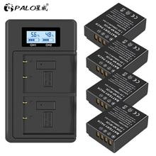 4Pcs 1200mAh NP-W126 NP W126 NPW126 Batteries+LCD Dual Charger for Fujifilm Fuji X-Pro1 XPro1 X-T1 XT1, HS30EXR HS33EXR X PRO1 meike mk xt1 battery grip for fujifilm x t1 as vg xt1
