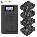 PALO 1200mAh NP-W126 NP W126 NPW126 Batteries+LCD Dual Charger for Fujifilm Fuji X-Pro1 XPro1 X-T1 XT20 XS10 XT100 XT200 XA5