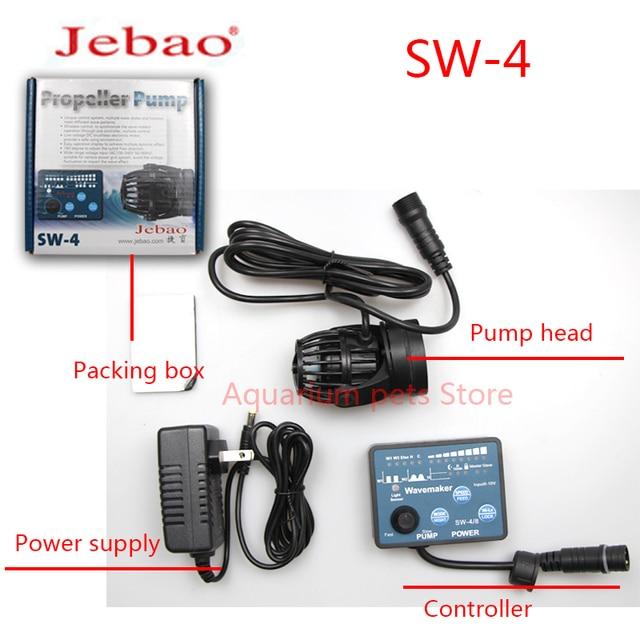 Jebao Water Pump SW-2 SW-4 SW-8 SW-15 Wavemaker Adjustable Flow Aquarium Jebao Wave Maker Fish Tank Aquatic Pet Supplies Home 4