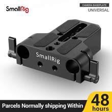 SmallRig DSLR Kamera Platte Universal Grundplatte mit Dual 15mm Rod Clamp für Sony FS7/ A7 serieso für Folgen fokus 1674