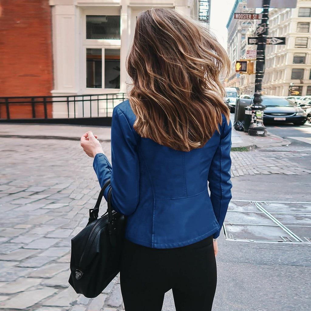 Veste Automne à manches longues ouvert avant court
