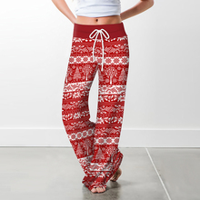 top selling product in 2020 Women Christmas Prints Drawstrin
