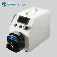 Adjustable Chlorine Dosing Peristaltic Pump Laboratory Analysis Chemical Dosing Stepper Motor Driven High Precision Easy Tubing