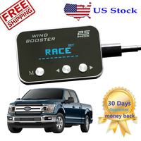 Car Pedal Accelerator Commander For Ford F150 F250 Throttle Response Controller 2011 12 13 14 15 16 17 2018