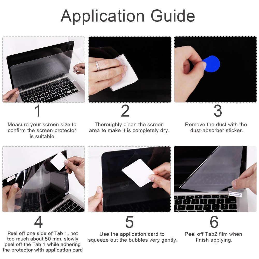 13.3 Polegada protetor de tela do portátil para dell inspiron 13 7000 7373 notebook anti brilho fosco filme protetor de tela lcd, 2 pces # cartinoe