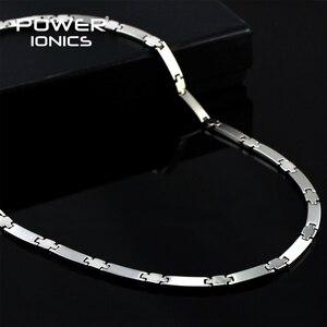 Image 1 - Power Ionics Genuine 100% Titanium 99.999% Germanium Necklace Balance w/ Retail Box PT030