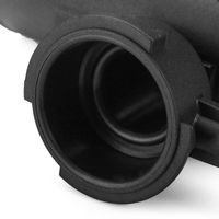 21501-9HA0A radyatör doldurma araba oto ABS üst boyun parçaları 1 adet siyah yeni