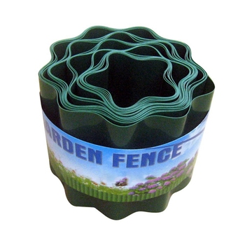 Garden Decorative Lawn Edging Fence Flower Protect Easy Installation Path Courtyard Flexible Grass Wall Ripple Shape