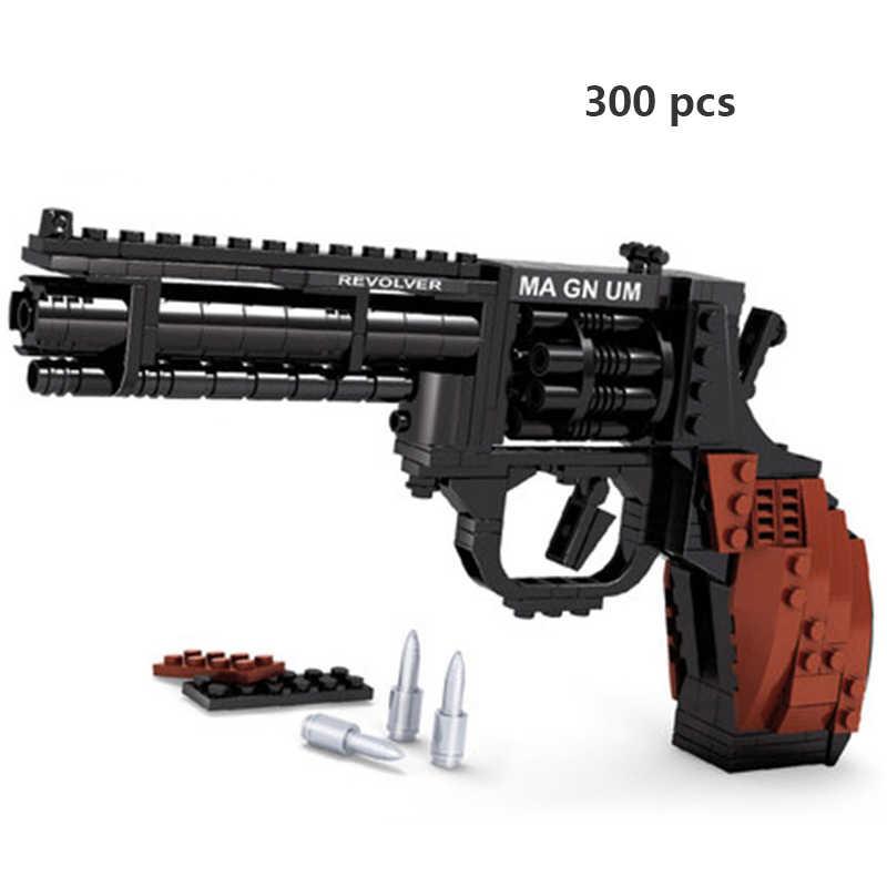 Ausini Pistole Technic Pistola Desert Eagle Mitragliatore 98k Modello SWAT WW2 Polizia Arma Moc Costruzione di Modello Blocchi di Costruzione di Giocattoli
