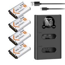 NP-BX1 NP BX1 Bx1 1800mAh bateria + ładowarka USB z LED z typu C dla Sony DSC-RX100 WX500 HX300 WX300 AS30V AS300 M3 M2 HX60