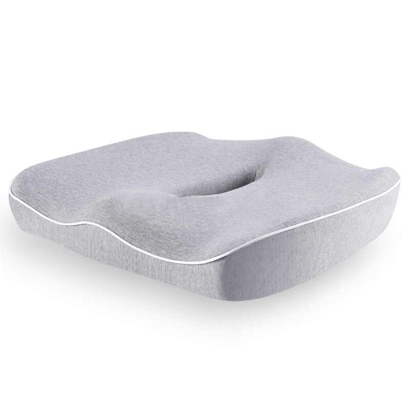 1PC 尾骨美しい臀部メモリ綿空洞デザインクッション保護滞在からにきびシートクッション固体