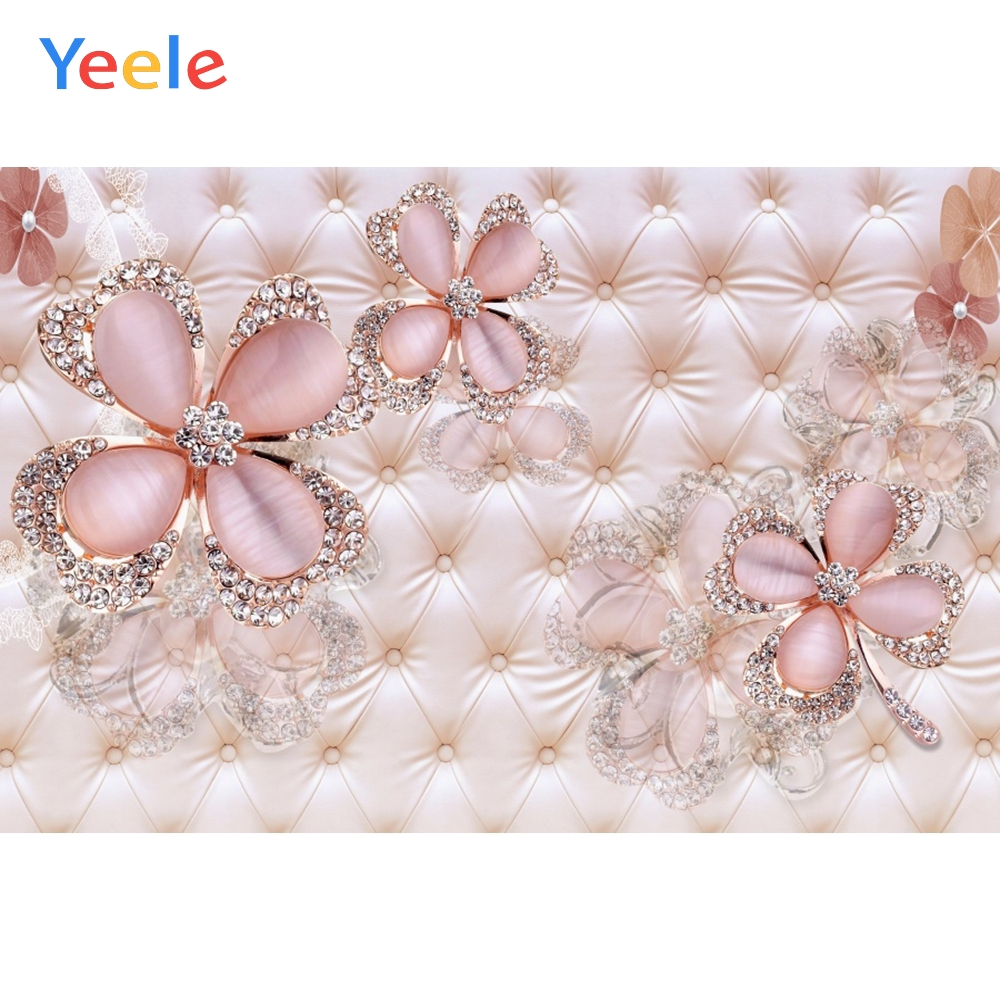 Yeele Wall Decor Photocall Bedhead Flower Refinement Photography Backdrop Personalized Photographic Backgrounds For Photo Studio in Background from Consumer Electronics