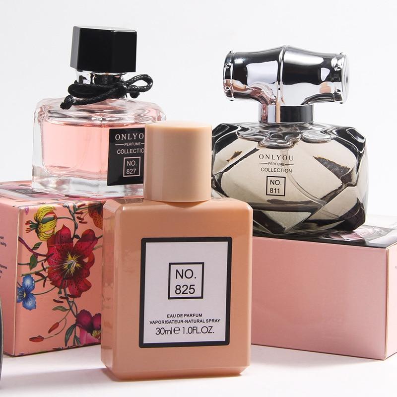 JEAN MISS Long Lasting Freshener Perfume Atomizer Perfume For Women Parfum Men Deodorant Fragrance Body Spray Glass Bottle 30ML
