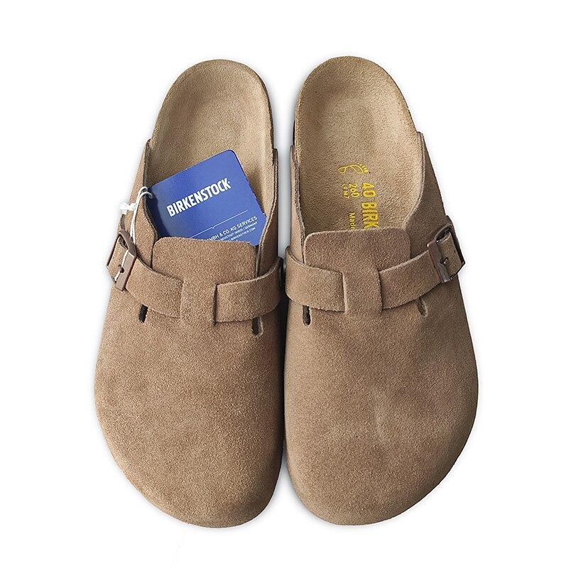 Купить 2020 оригинальная обувь birkenstock унисекс boston прочная модная