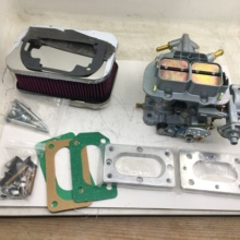 Карбюратор SherryBerg fajs 38 клиньев 38x38, комплект воздушного фильтра WEBER, адаптер пластины для Nissan ISUZU TOYOTA CHEVY SAMURAI Ford, курьер