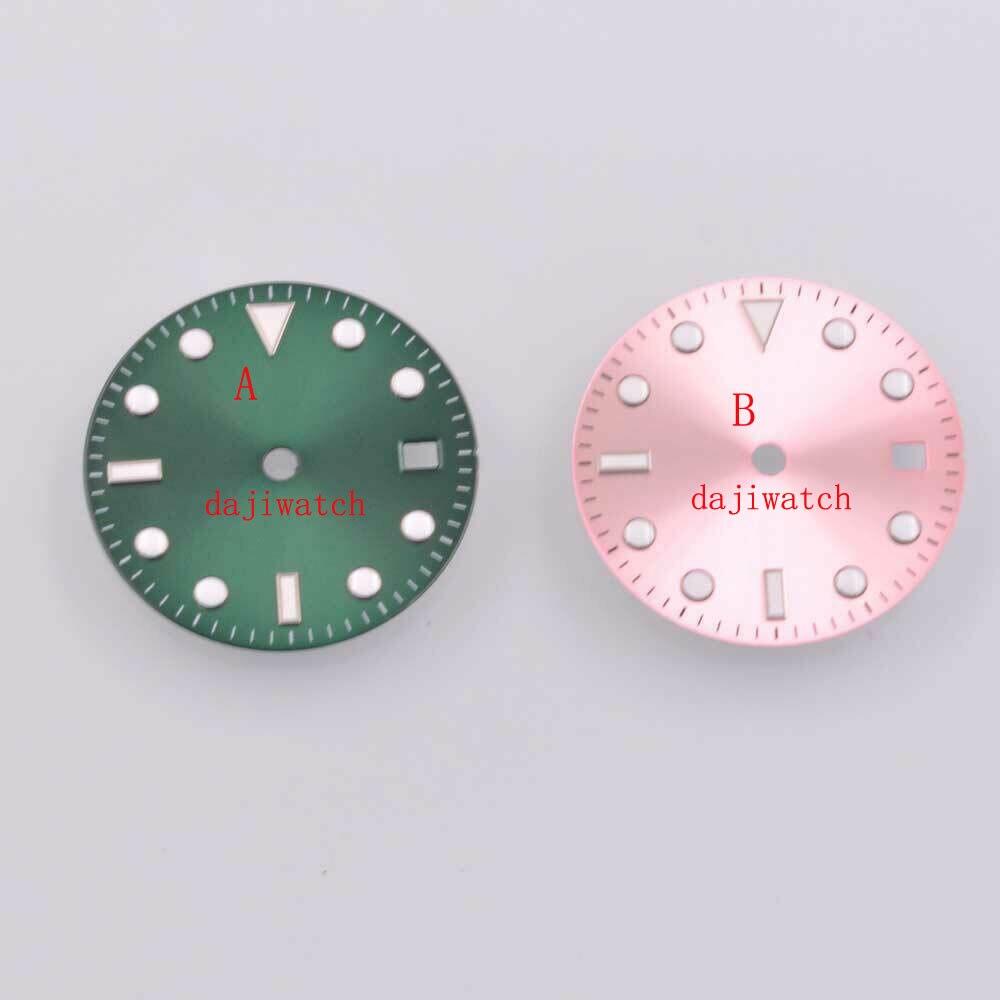 Relógio Estéril Dial Ajuste 2836 – 2824 2813 3804 Miyota 8205 82 Series Movimento 28.5mm