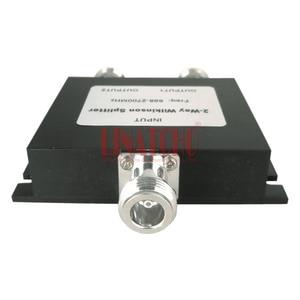 Image 2 - 698 2700mhz GSM 4G LTE W CDMA FDD mobile signal repeater antennas wilkinson splitter 2 way