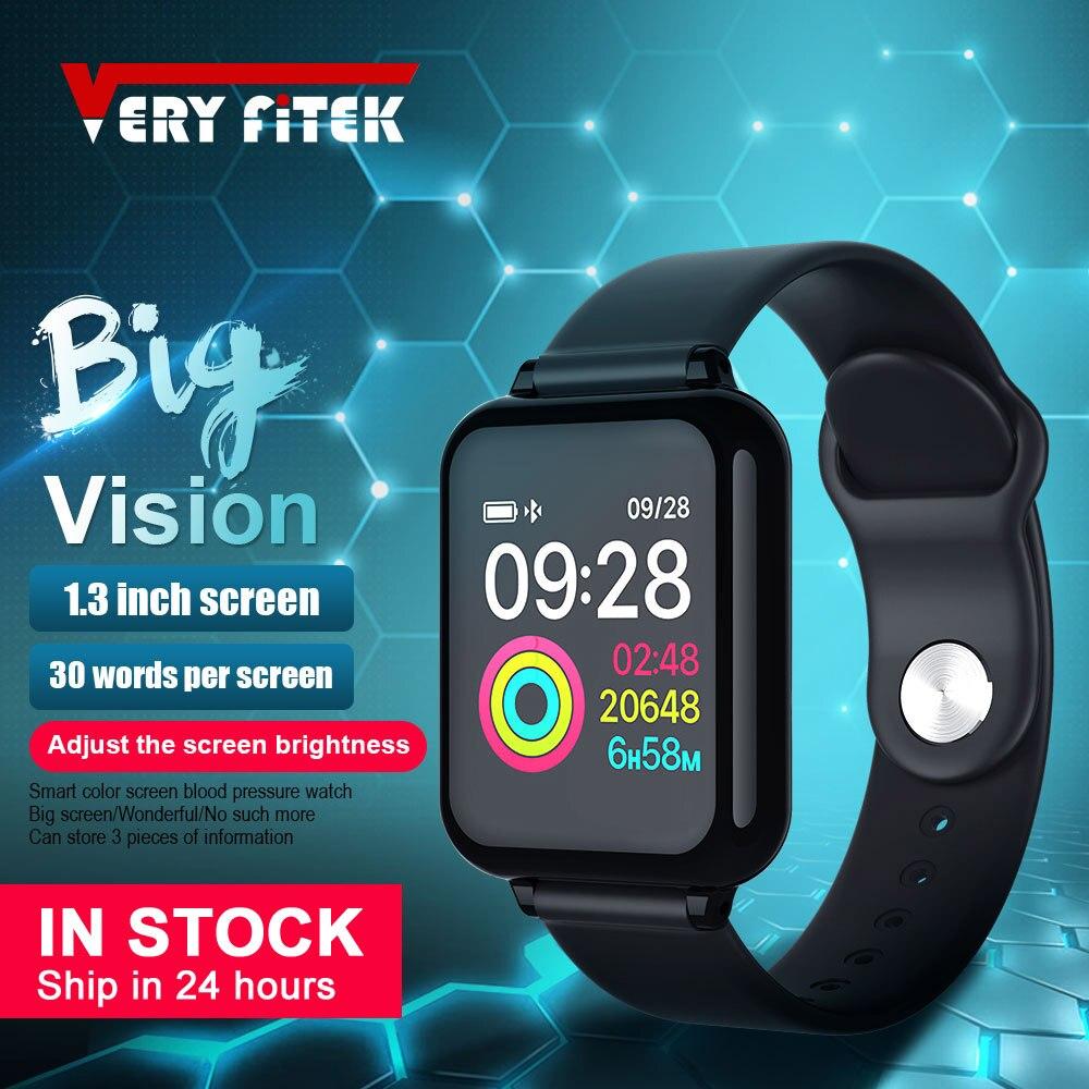 VERYFiTEK AW4 Smart Uhr Blutdruck Sauerstoff Fitness Armband Uhr Herz Rate Monitor IP67 Männer Frauen Sport Smartwatch B57