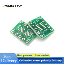 20 pces sot23 sop10 msop10 umax sop23 para dip10 pinboard smd para dip adaptador placa 0.5mm/0.95mm a 2.54mm dip pino pcb placa converter