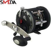 цены на Saltwater Fishing Reels Max Drag 28KG Trolling Drum Fishing Reel Saltwater Right Hand Black Sea Fish Reel в интернет-магазинах