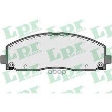 Колодки Тормозные Chrysler Grand Voyager/Dodge Caravan 12- Передние Lpr 05p1759 Lpr арт. 05P1759