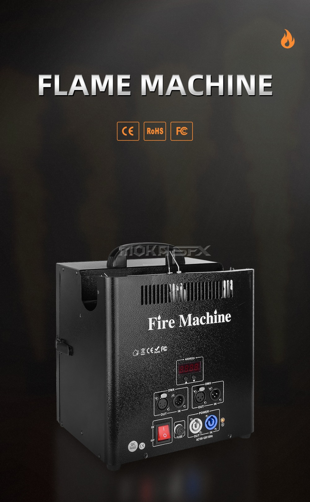 flame machine