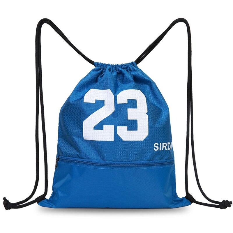 Basketball Bag Sports Bag Net Pocket Soccer Package Drawstring Bag Drawstring Single Room Backpack Men And Women Sports Fitness