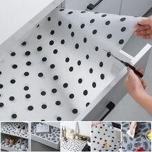 Tapis de tiroir résistant à l'huile et à l'humidité, tapis de doublure pour table de cuisine, étagères, placards, napperon antidérapant et imperméable, 45x122 cm