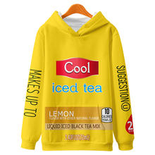WAMNI 3D Print Kpop Trui Truien Mannen/Vrouwen Iced Tea Casual Hooded Streetwear Sweatshirts Hip Hop Citroen thee Harajuku mode(China)