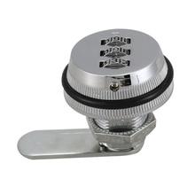 Сплав код комбинированная камера замок без ключа почтовый ящик шкаф RV 3 набора