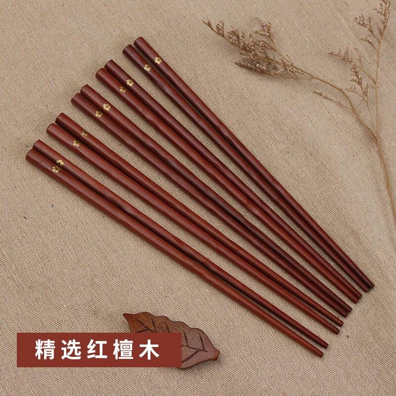 Купить 2 шт деревянные палочки для еды с вишней