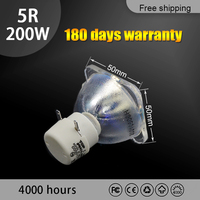 גבוהה באיכות 5R 200W מנורת 200w מנורת 5r beam 200W 5r מתכת הליד מנורות msd פלטינום 5r מנורה