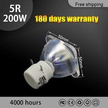 High quality 5R 200W LAMP moving beam 200w lamp 5r beam 200W 5r metal halide lamps msd platinum 5r lamp