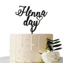 Topper feito sob encomenda do bolo do aniversário do casamento do aniversário do coração
