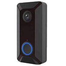 Wireless WIFI Smart Video Doorbell Camera Security Door Bell 720P HD PIR Visual Recording Home Door Bell
