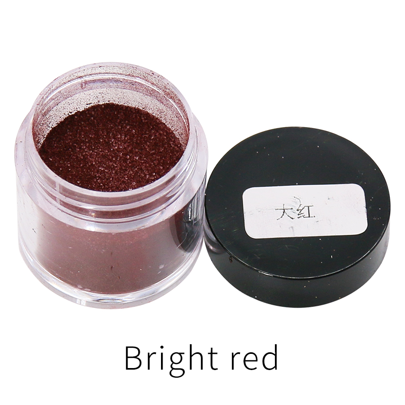 Red Fabric Dye Powder Pigment Dye For Clothing Renovation For Clothes Feather Bamboo Dyestuff Acrylic Paint Powder 10g/bottle