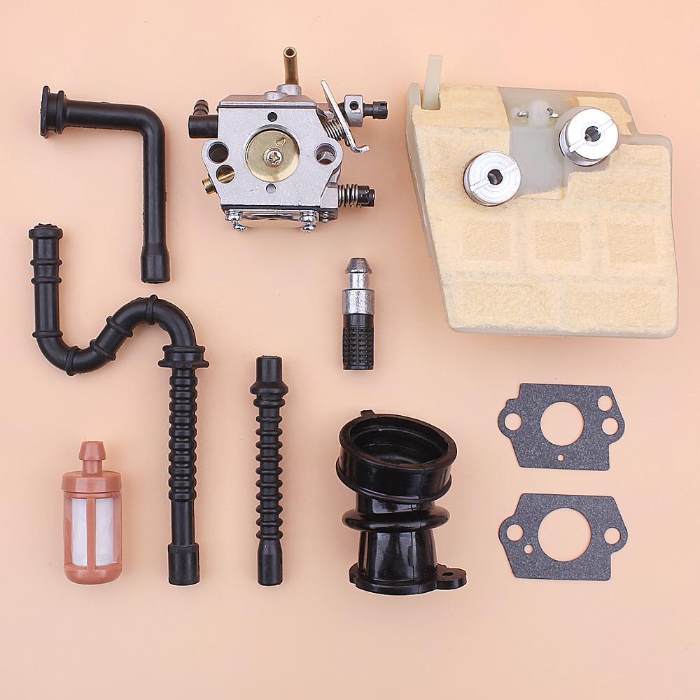 WI Carburetor Air Fuel Filter For STIHL 041  041 Farm Boss Gas Carb Chainsaw