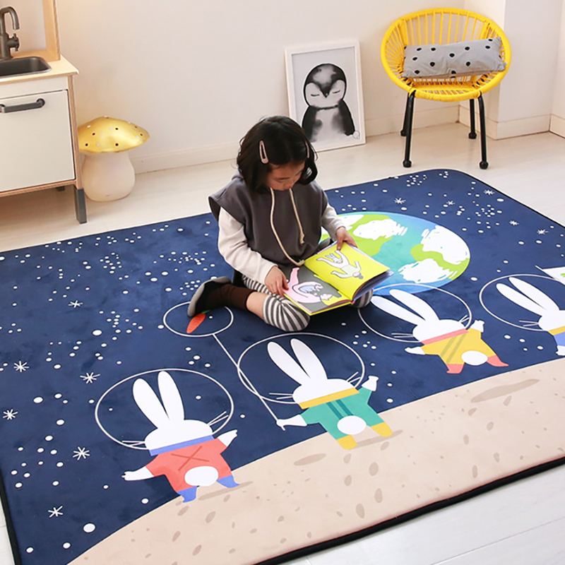 Thick Baby Play Mat Carpet Infant Developing Crawling Mat Foam Washable Activity Rug Pad Foldable Baby Room Decor BXX018