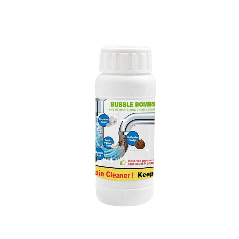 Unblocking Bubble Net Oxygen Multi-Function Pipeline Clearing Agent Foaming Cleaner Universal Unblocking Artifact