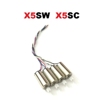 SYMA X5SW X5SC X5HC X5HW вращение по часовой стрелке и против мотор RC Quadcopter Drone запасные Запчасти двигателя Запасные аксессуары VS X5C X5 мотор