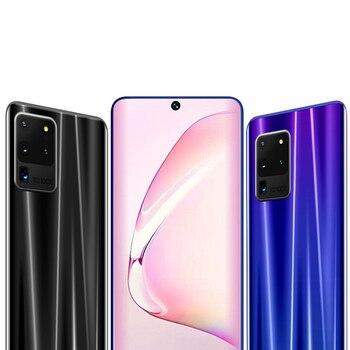 smartphones 8G+256GB 6.8 inch unlocked celulares quad core android mobile phones wifi WCDMA Unlock cheap free shippi