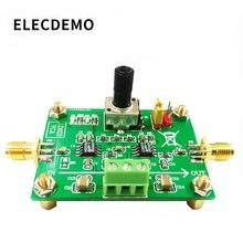 AD603 متغير كسب مكبر للصوت وحدة الجهد مكبر للصوت تحكم في الجهد قابل للتعديل VCA مكبر للصوت مجلس 80dB
