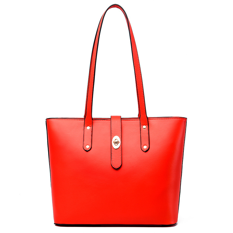 Women 39 s Bag Retro Casual Designer Handbag Quality Top 2019 New Travel Shopping Handbag Set Luxury Designer Simple in Top Handle Bags from Luggage amp Bags
