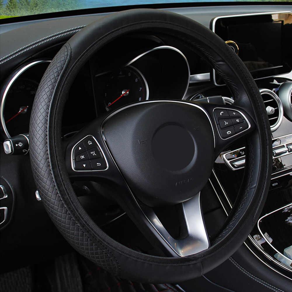 Style de voiture Couverture De Volant De voiture Pour audi a4 b8 a6 c5 a5 b7 q5 tt s line a8 q3 Hyundai IX35 solaris tucson 2019 i10 i20 i30 lada