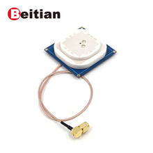 BEITIAN GNSS GPS antenna for ZED F9P module RTK Drone Base UAV UGV GPS GLO GAL BDS GNSS L1,L2 SMA JW connector BAW 5630C