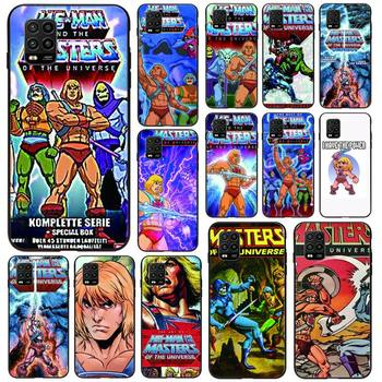 HE-MAN And The Masters Of The Universe Phone Case Black For Xiaomi 6X 8 8Lite 9T 10 10Lite Note 8 8T 9Pro 9Promax Cases image